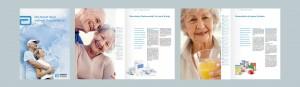 Die Printdesigns von LEHNSTEIN (Infobroschüren, Produktliteratur, Dokumentationshilfen) unterstützen Pflegedienste und Patienten beim Einsatz von enteraler Ernährung.