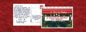 Postkarte aus der Einführungskampagne der A Plus Schulbuchreihe für Cornelsen von LEHNSTEIN.
