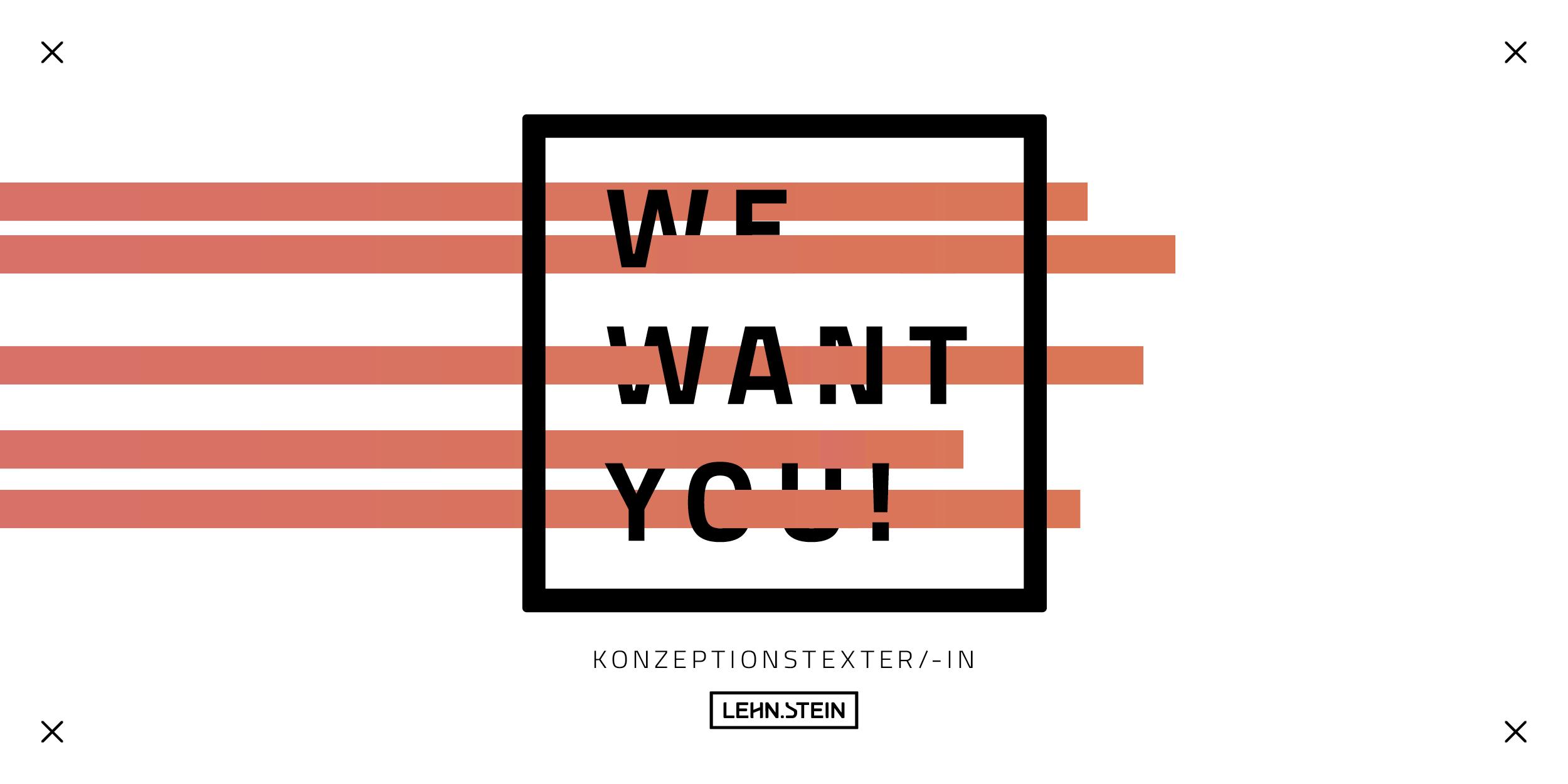 Wir suchen dich als Konzeptionstexter/-in