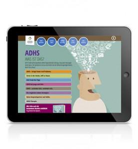 Referenzseite der Website ich-bin-ok.com im zweiten Schritt der MEDICE ADHS-Kampagne von LEHNSTEIN.