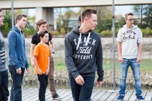 Videoproduktion des Shuffle Dance Videos für die MEDICE Kampagne Jeder ist anders.