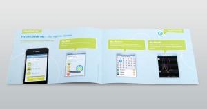 Infomaterial zur ADHS App Hypercheck von MEDICE, GIMIK und LEHNSTEIN für vom Störungsbild betroffene Jugendliche.