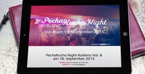 Das Event der Werbeagentur LEHNSTEIN: Die PechaKucha Night Koblenz Vol. 8 findet am 18. September statt!
