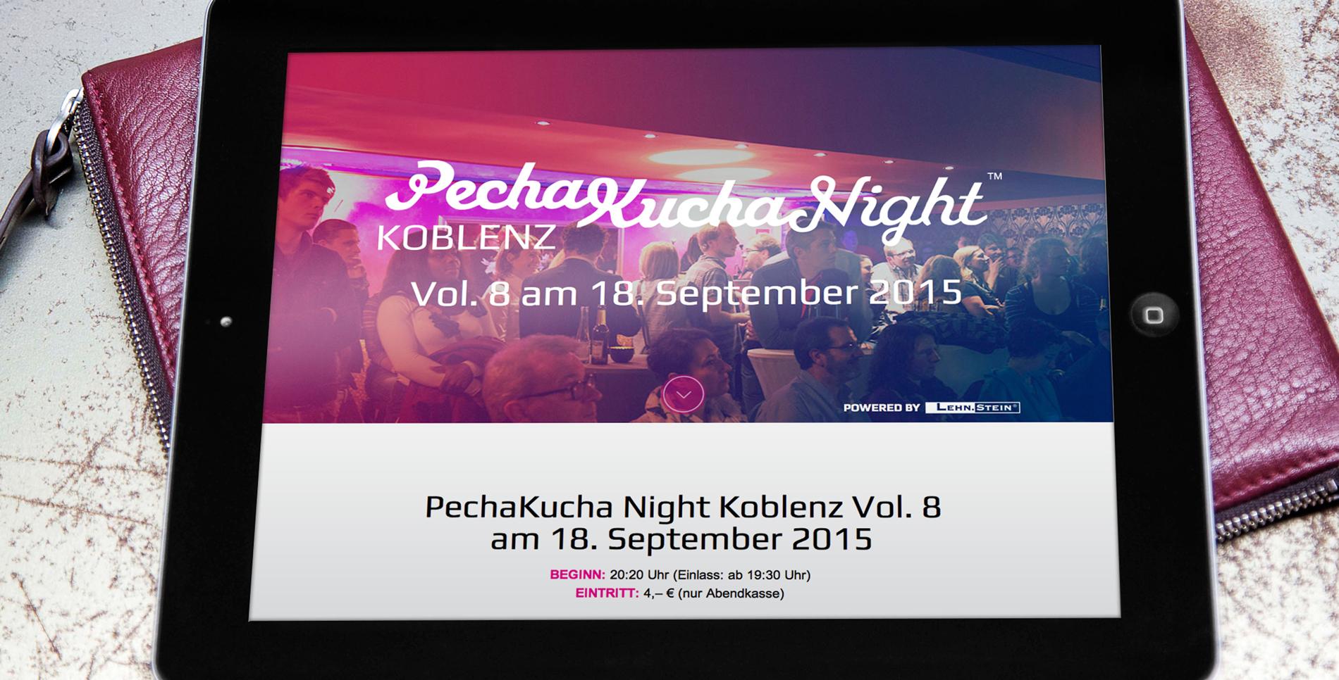 PechaKucha Night Koblenz Vol 8 – Werbeagentur Lehnstein Koblenz Veranstaltungen