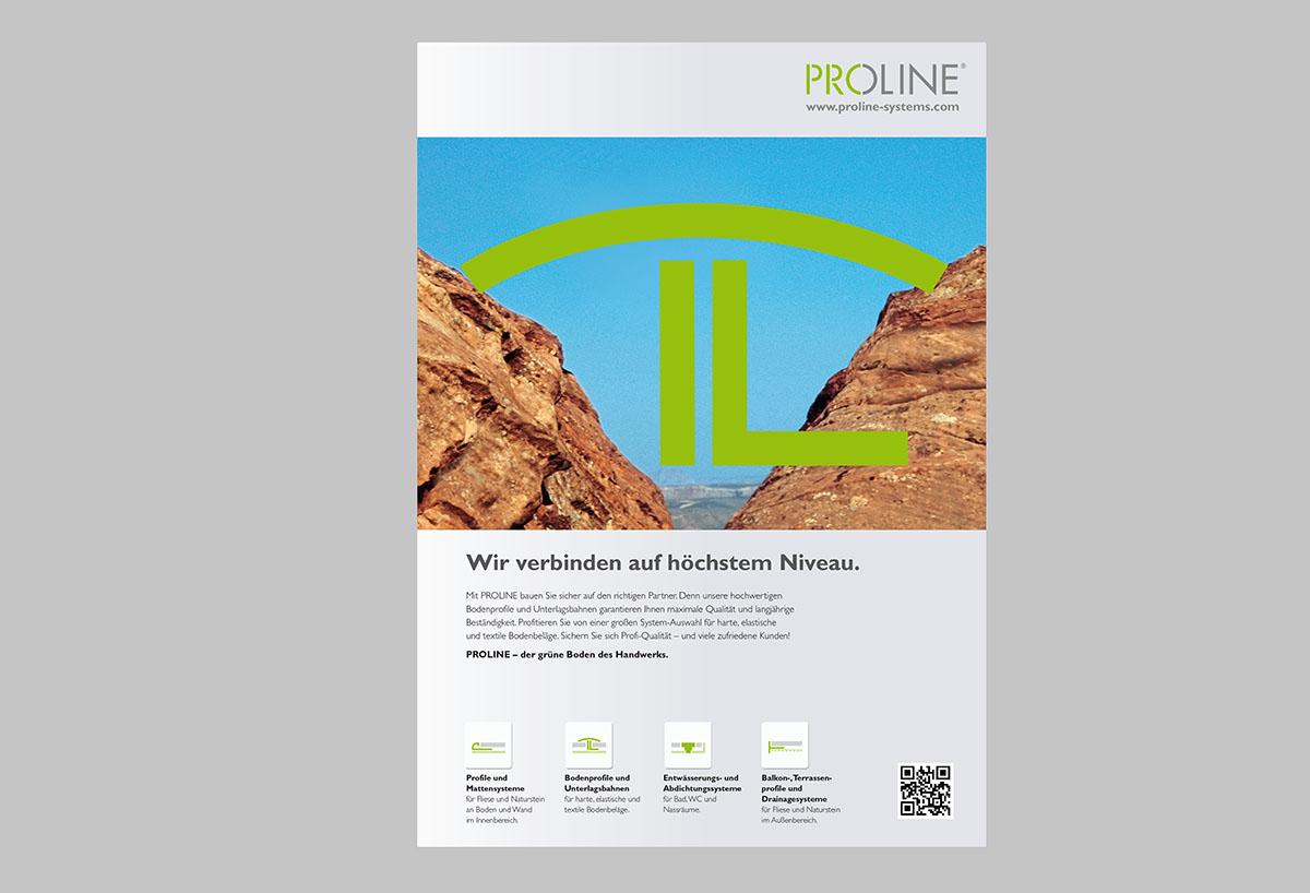 PROLINE Imageanzeigen – Werbeagentur LEHNSTEIN Koblenz Referenzen