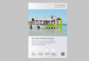 Referenzbeispiel der PROLINE-Imageanzeigen, in denen reale Fotos mit den PROLINE-Piktogrammen verschmelzen.