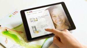 In der digitalen Produktpräsentation von LTS geben 3D-Renderings verständliche Einblicke in die komplexen Medizinprodukte.