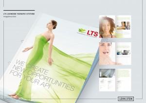 LEHNSTEIN Referenzen Imagebroschüre für LTS