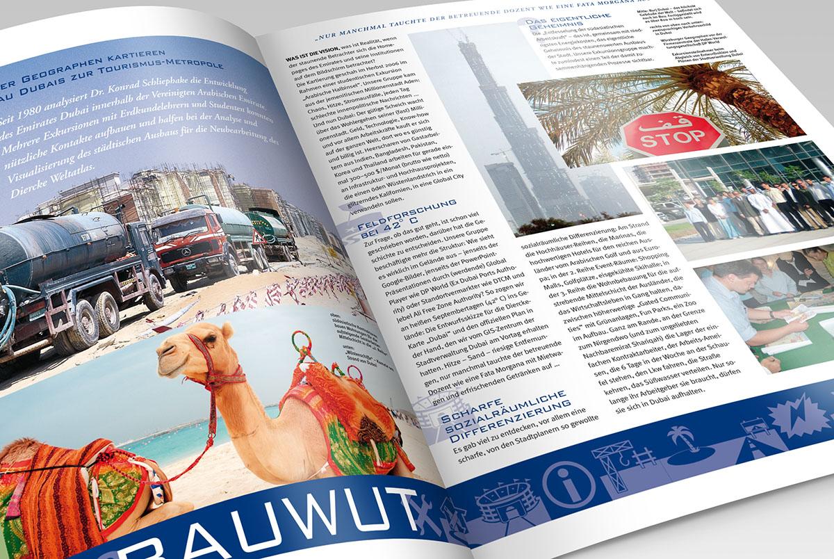 Westermann Direcke Weltatlas Magazin – Werbeagentur Lehnstein Koblenz Referenzen
