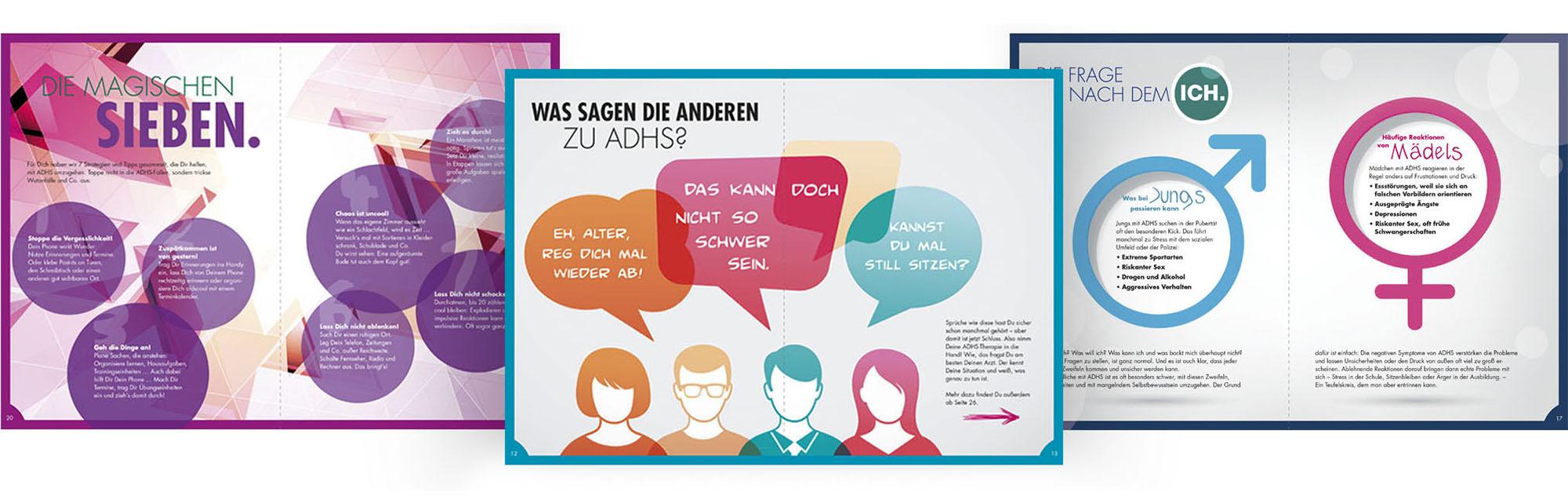 MEDICE ADHS-Kampagnen-Booklet Vol 1 – Werbeagentur Lehnstein Koblenz Referenzen