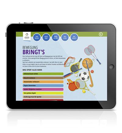 MEDICE ADHS-Kampagnen-Website – Werbeagentur Lehnstein Koblenz Referenzen