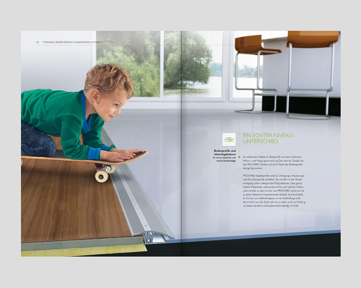 PROLINE Imagebroschüre – Werbeagentur LEHNSTEIN Koblenz Referenzen