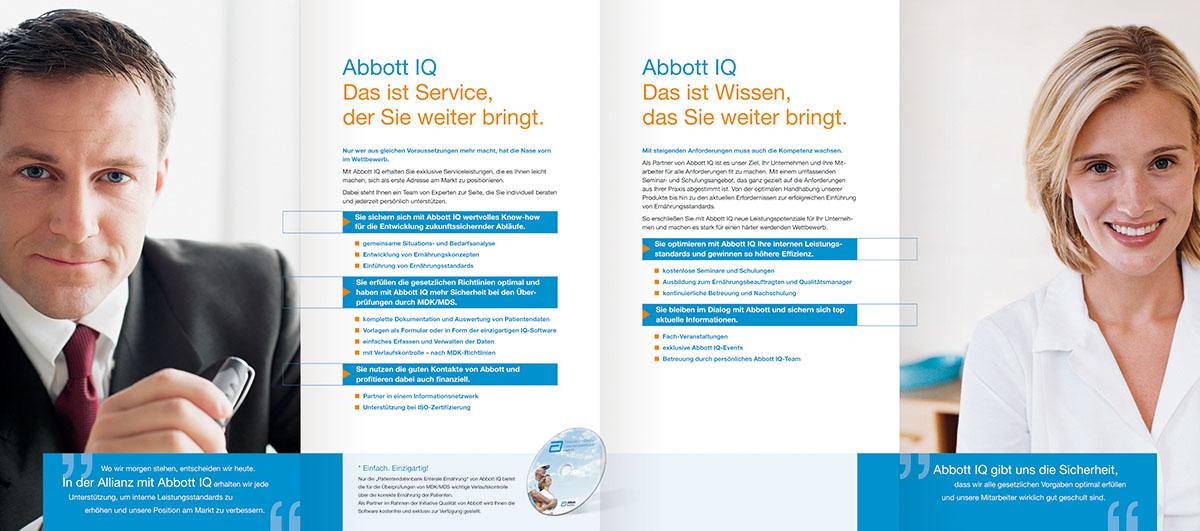 Abbott enterale Ernährung Produktliteratur – Werbeagentur Lehnstein Koblenz Referent