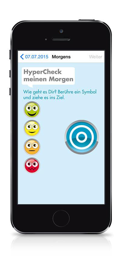ADHS App Hypercheck Medice – Werbeagentur LEHNSTEIn Koblenz Referenz
