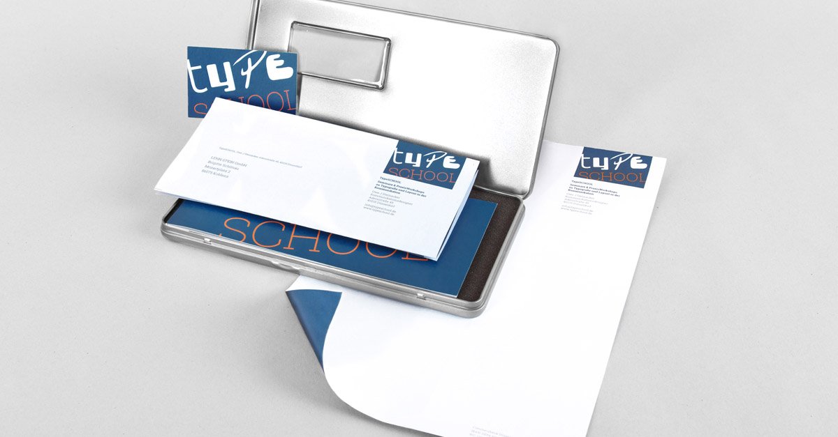 TypeSCHOOL Markenauftritt Geschäftsausstattung – Werbeagentur Lehnstein Koblenz