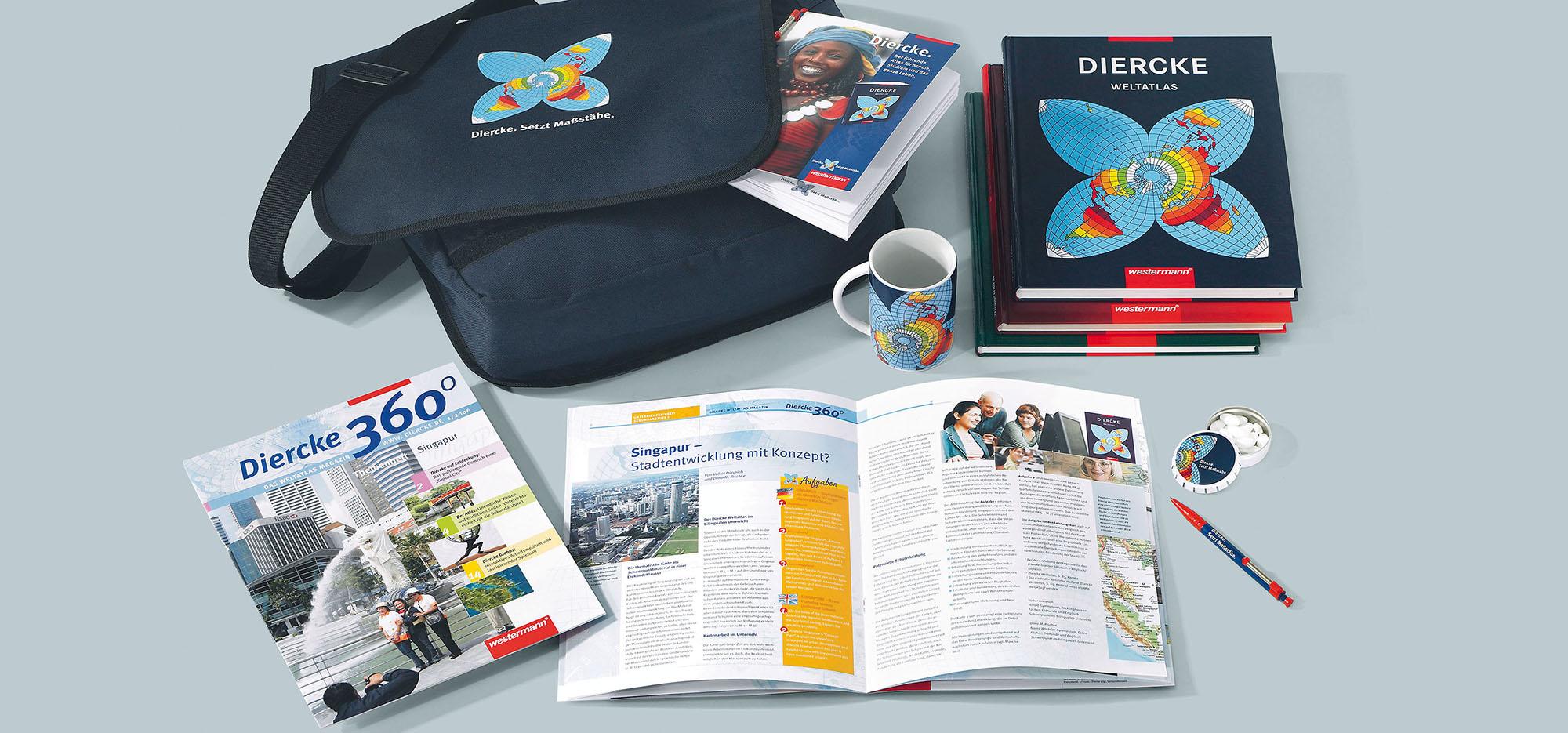 Westermann Corporate Publishings Diercke – Werbeagentur Lehnstein Koblenz Referenzen